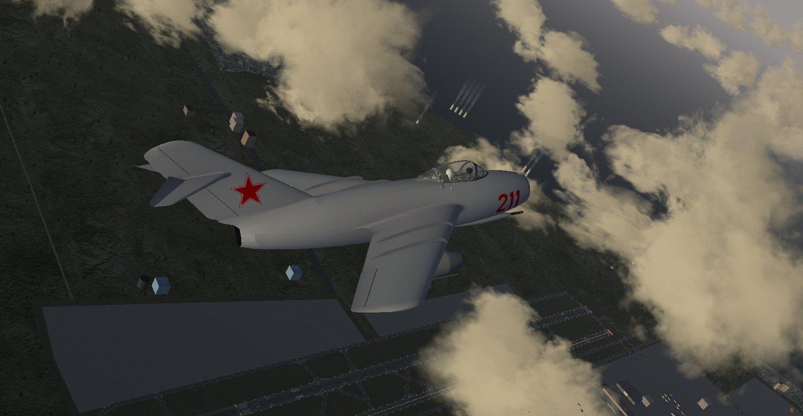МиГ-15, внешний вид